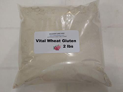 (Vital Wheat Gluten, 2 Pounds 75 Percent Protein All Natural, Non-GMO, Bulk)
