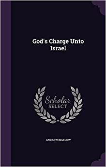 Book God's Charge Unto Israel