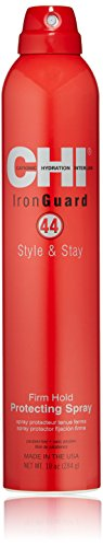 CHI 44 Iron Guard Style & Stay Firm Hold Protecting Hair Spray ,10 Oz