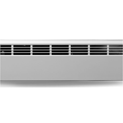 Revital/Line Slant/Fin Aluminum Baseboard Heater Replacement Cover in Brite White