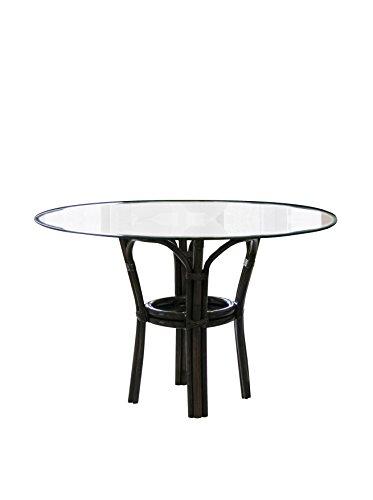 Panama Jack PJS-1001-ATQ-B Sanibel Stackable Dining Base with Glass, 29.5