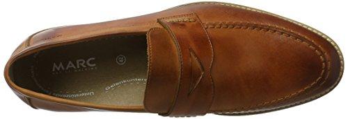 Marc Shoes 00325, Scarpe Stringate Senza Lacci Uomo Marrone (Braun)