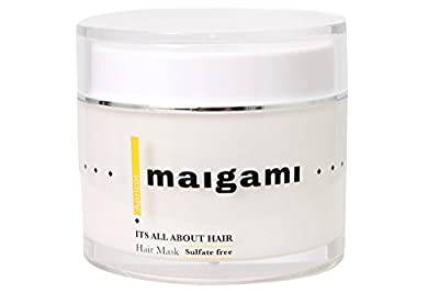 Maigami Luxury Hair Mask Repair Dry And Damaged Hair, Sulfate Free Treatment, Amazing For Color Treated Hair And All Hair Types - 6.75 oz (Apricot)