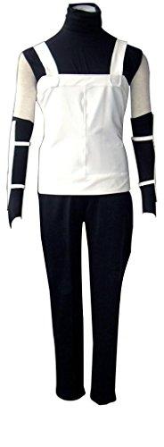 Anbu Costume (Mtxc Men's Naruto Cosplay Costume Anbu Uniform 1st White Size XX-Small White)