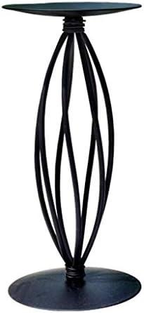 ZWJ-キャンドルスタンド 燭台鉄のキャンドルホルダーロマンチックな結婚式の小道具誕生日ギフトキャンドルライトディナーブラック燭台