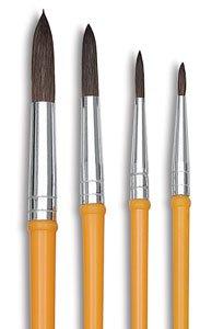 Binney & Smith Crayola(R) Good Quality Watercolor Brush Series 1127, 8, Hair Length 13/16