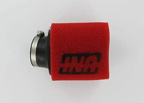 Uni Air Filter Angled Mount Clamp-On Dual Layer