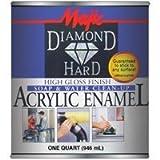 Majic Paints 8-1505-2 Diamond Hard Acrylic Enamel High Gloss Paint, 1- Quart, Safety Blue
