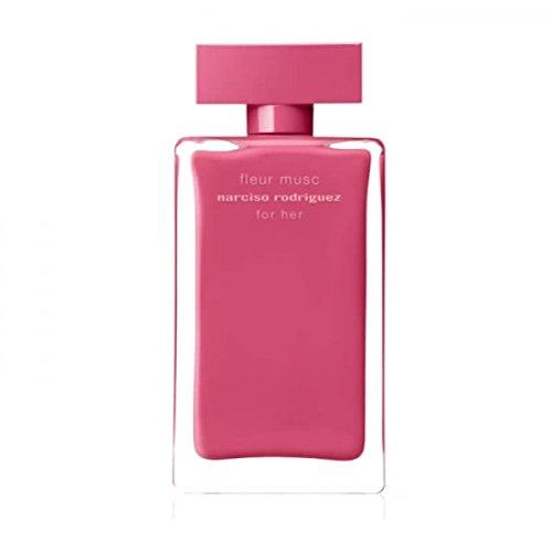 Narciso Rodriguez Fleur Musc For Her Eau de Parfum Spray, 3.3 Ounce