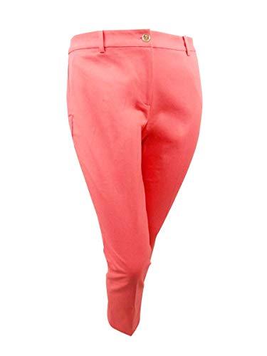 Michael Michael Kors Women's Miranda Skinny Pants (14, Coral ()