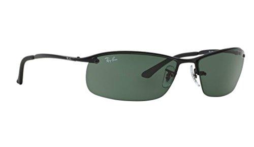 Ray-ban RB 3183 006/71 63mm Black Sunglasses + SD Glasses + - Ban 3183 Ray