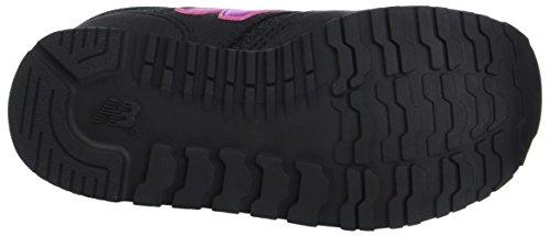 New Balance Unisex-Kinder 420v1 Sneaker Schwarz (Black/Pink)