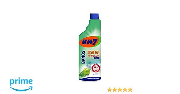KH-7 Desinfectante Baño - 6 Recipientes de 750 ml - Total: 4500 ml ...