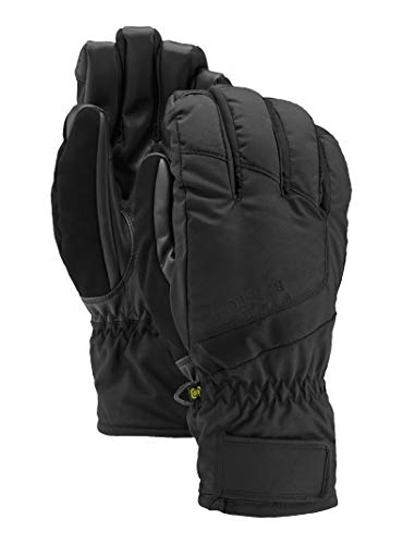 - Burton Men's Insulated, Warm, and Waterproof Profile Under Gloves with Touchscreen, True Black, XX-Large