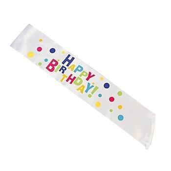UPC 886102276594, 1 Satin Everyday Birthday Party Sash