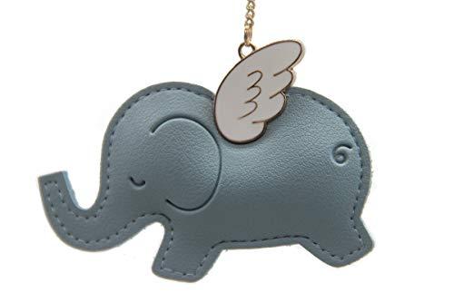 Boltz Lucky Elephant Car Charm Rear View Mirror Accessories,Car Mirror Hanging Ornaments Decoration,Key Charm -