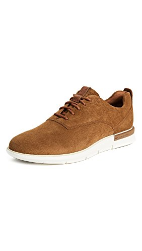 Cole Haan Men's Grand Horizon Oxford II, Bourbon Suede/Ivory, 12 Medium US by Cole Haan