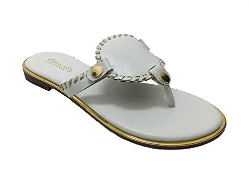 Avanti Amanda Delight Womens Sandalo Bianco
