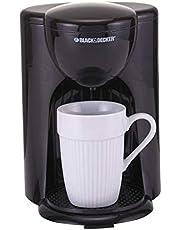 ماكينة تحضير القهوة 330 وات من بلاك اند ديكرDCM25-B5، سعة 1 كوب - اسود