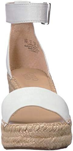 Franco Sarto Women's Clemens Espadrille Wedge Sandal White 5