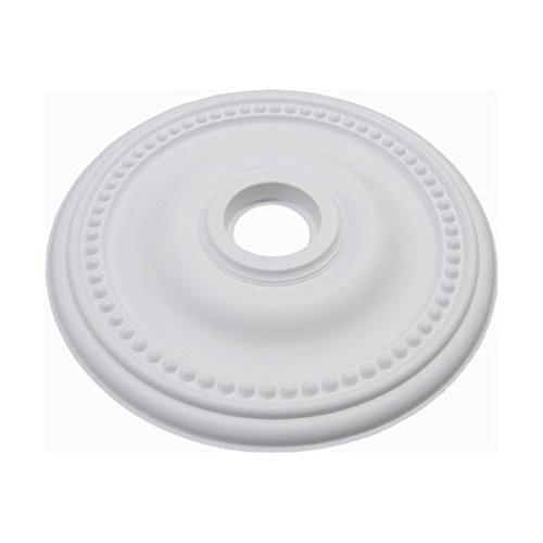 "Plano II Ceiling Medallion, 24"" Diameter, Contemporary Style/Paintable/Do-It-Yourself Home Decor"