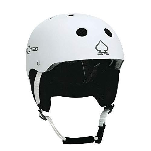 (ProTec Classic Certified Snow Helmet - Matte White - XL)