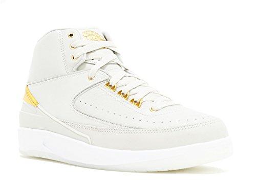 Nike Air Jordan 2 Retro Q54 Light Bone Metallic Gold White 866035 001 (13) 866035-001
