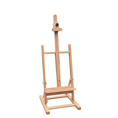 Easel Nationwel@ Beech Table-top, Sketch Oil, 82~117 cm Wooden Display Rack, Drawing Board, Wood Color