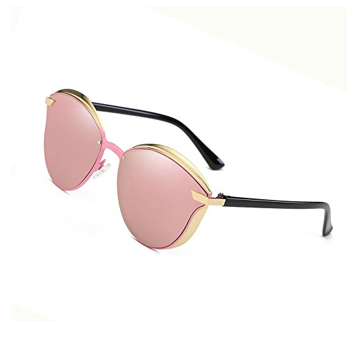 Fashion Polarized Sunglasses for Women Cat Eye Style Mirrored UV400 Protection - Sunglasses Protection Eye Best