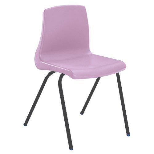 Metalliform np1-mc-lilac standard Classroom sedia con sedile 260mm, lilla