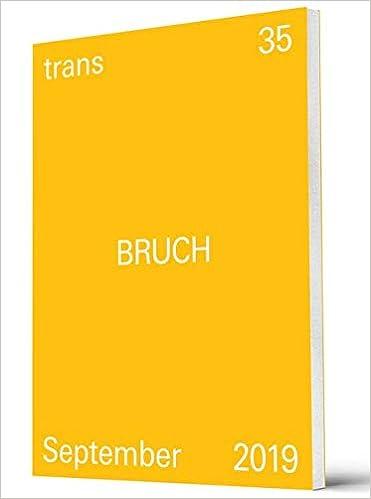 Trans 35 Bruch Amazon Fr Livres Anglais Et Etrangers