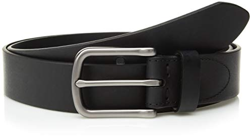 Fossil Men's Percy Genuine Leather Belt - Black
