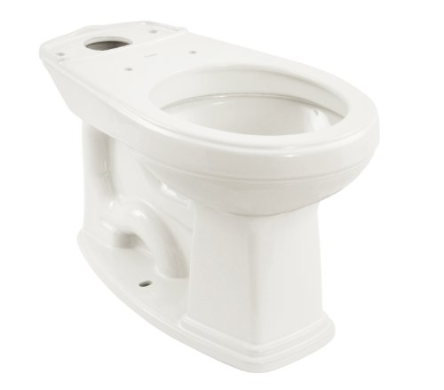 Promenade Round Toilet Bowl - TOTO C423EF#01 Promenade Universal Height Round Front Bowl, Cotton White
