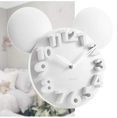 LTOOD Diseñador Moderno Mickey Mouse 3D Reloj de Pared Imán de ...