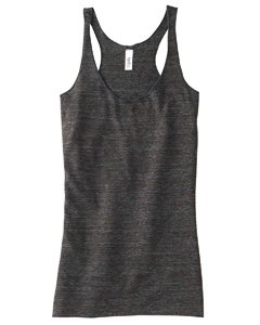 Bella B8430 Ladies Tri-blend Racerback Tank - Charcoal Black Triblend - 'M