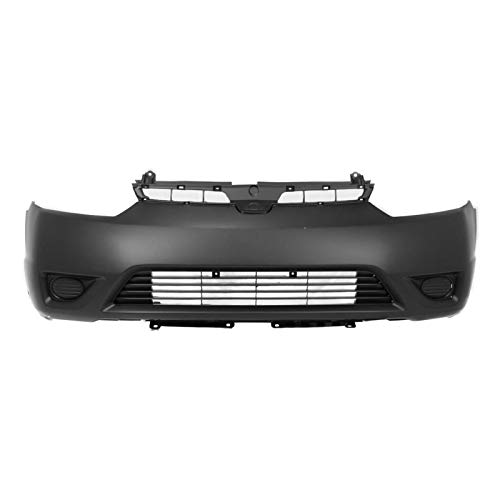 (MBI AUTO - Painted to Match, Front Bumper Cover for 2006 2007 2008 Honda Civic Coupe, HO1000237)
