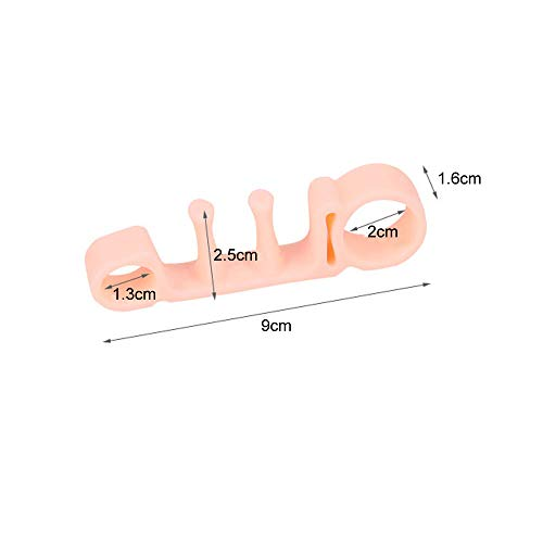 1Pair of Five Toes Bunion Corrector Hallux Valgus Corrector Day Night Toes Correction Feet Care Snail shape by XXJKHL (Image #1)
