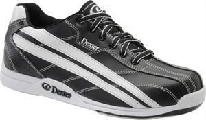 Dexter Jack Wide Width Bowling Shoes, Black/White, 7