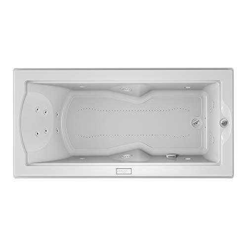 (Jacuzzi FUZ7236CRL4CHW Fuzion 7236 Salon Spa Bath UM w/Chromatherapy, White)
