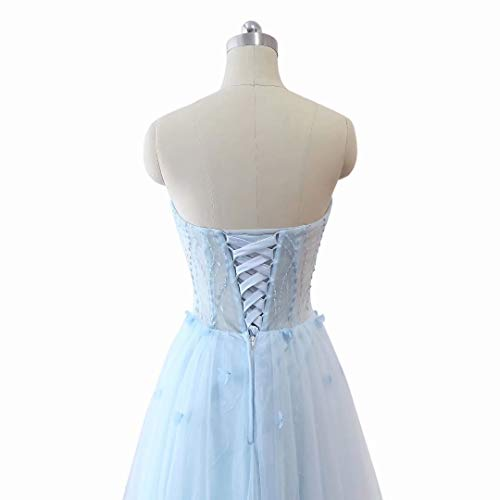 Tulle Abendkleid Love Formal Frauen Long Perlen 32 Schatz King's Ballkleider Maxi Ytxpx