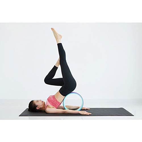 Amazon.com: EcoYogi - Rodillo de rueda de yoga para yoga ...