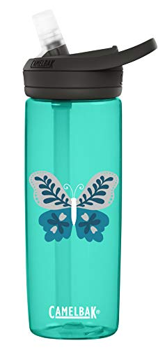 CamelBak Eddy+ .6L Water Bottle, Folk Butterfly.6L