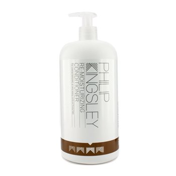 Conditioner Remoisturizing (Philip Kingsley - Re-Moisturizing Conditioner (For Coarse Textured or Very Wavy Curly or Frizzy Hair) - 1000ml/33.8oz)