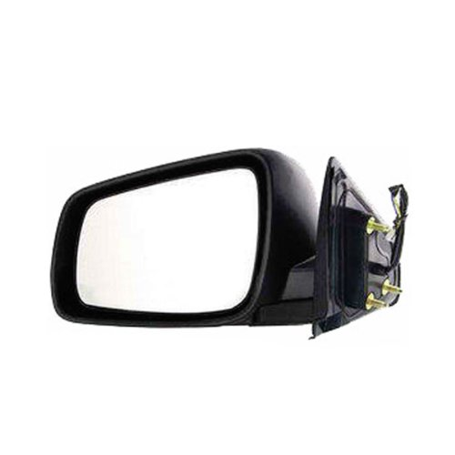 2008-2011 Mitsubishi Lancer Power Without Heat Textured Black Folding Non-Heated Rear View Mirror Left Driver Side (2008 08 2009 09 2010 10 2011 11)