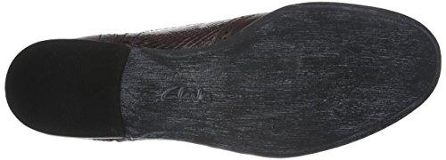 Clarks Hamble Oak - Zapatos Derby para mujer Morado (Aubergine Combi Leather)