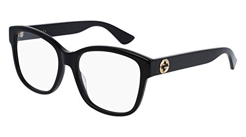 Gucci Womens Women's Rectangular 54Mm Optical ()
