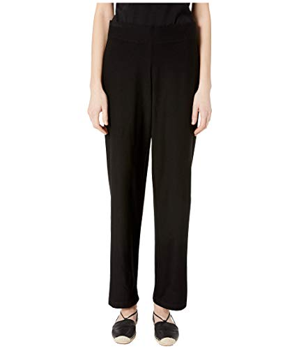 Eileen Fisher Washable Stretch Crepe Straight Leg Pant w/ Yoke Waistband from Eileen Fisher