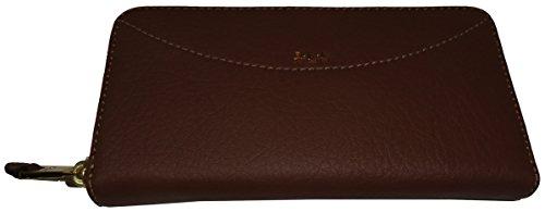 Lauren Ralph Lauren Women's Leather *Sheldon* Zip Around Wallet, - Ralph Card Credit Lauren Holder