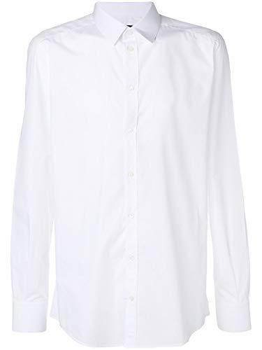 Dolce Shirt Gabbana & Dress Cotton (Dolce e Gabbana Men's G5ej0tfu5k9w0800 White Cotton Shirt)