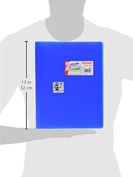 VIVIDA 20 buste Portalistino Esselte Polipropilene Giallo Vivida Capacit/à 40 fogli Buste trasparenti 395572090 Finitura antiriflesso